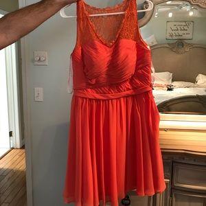 Bridesmaid azazie dress